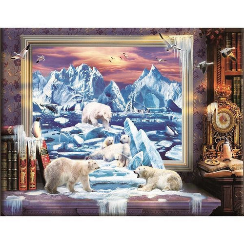 Polar - Cross Stitch Kit-EasyWhim