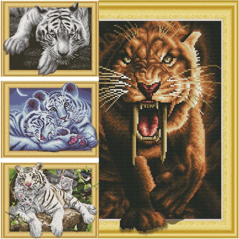 Predators - DIY 5D Diamond Painting - 3D Drill-EasyWhim