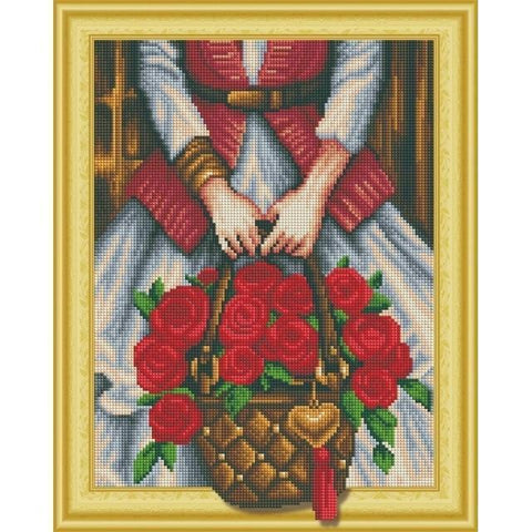 Red Beauties - DIY 5D Diamond Painting - 3D Drill-EasyWhim