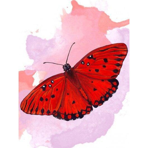 Red Pretty - DIY Oil Painting on Canvas - Paint By Numbers-EasyWhim