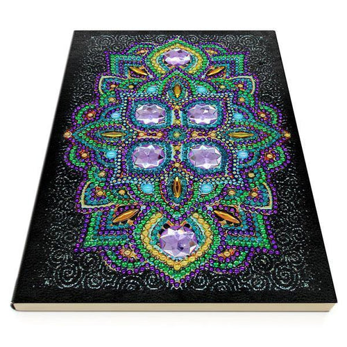 Sparkling Diamonds - Diamond Painting A5 Notebook-EasyWhim