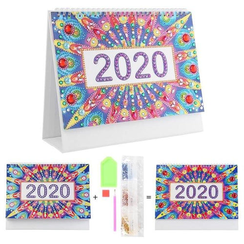 Star Explode - DIY Diamond Painting 2020 Calendar-EasyWhim