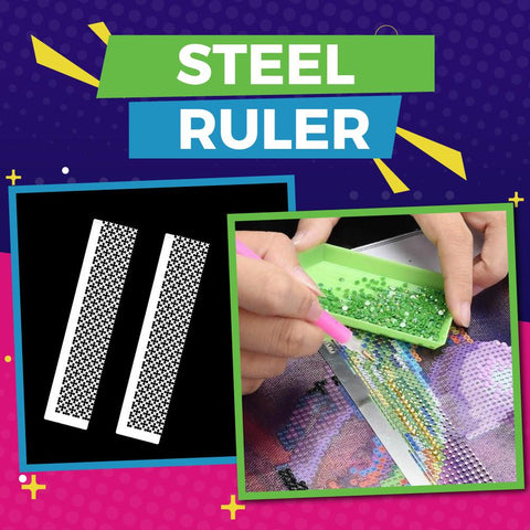 Image of Steel Ruler - DIY Diamond Painting-EasyWhim