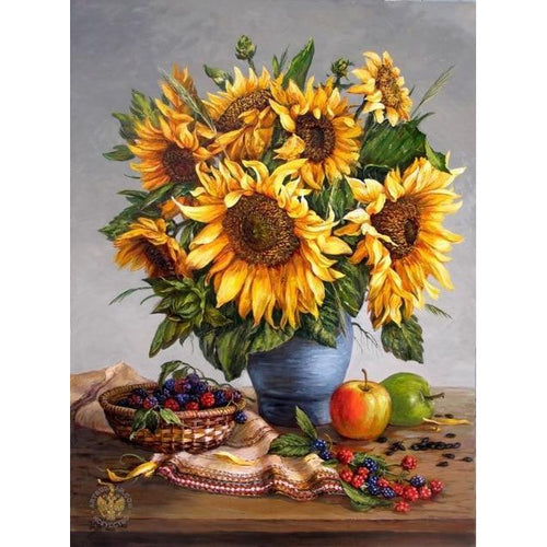 Sunflower Galore - Cross Stitch Kit-EasyWhim