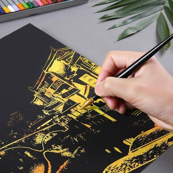 Tianjin - DIY Scratch Art-EasyWhim