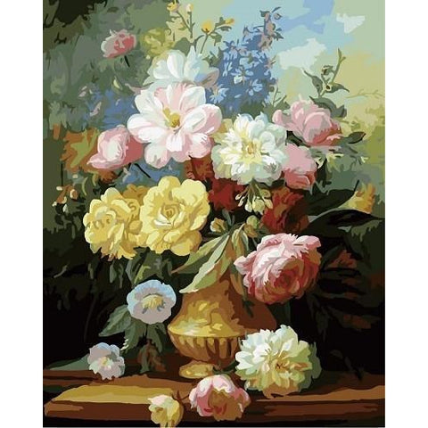 Variants - DIY Oil Painting on Canvas - Paint By Numbers-EasyWhim