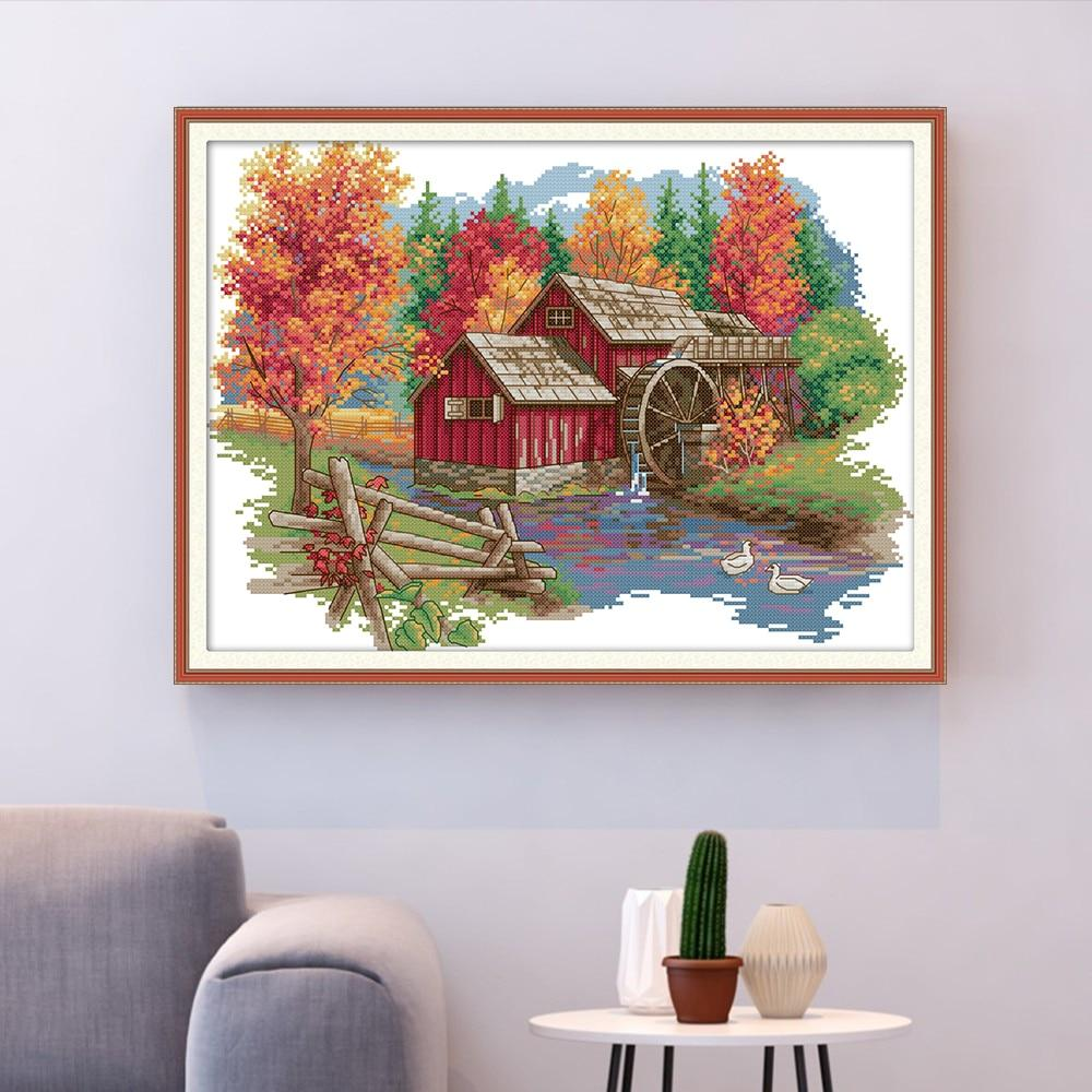 Water Power - Cross Stitch Kit-EasyWhim