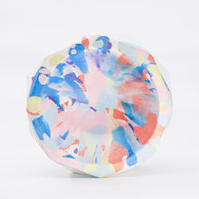 Coloured Facets Concrete Bowl