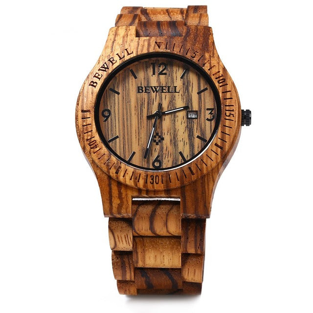 Luxury Oakwood Watch