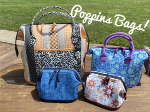 Monday Morning Quilting Quickies: The Poppins Bag