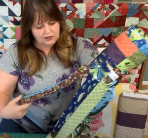 Monday Morning Quilting Quickies - Summer Windsock