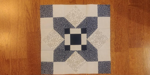 My Secret Garden - Block 4 with Joy - Pine Needles Quilt & Sew