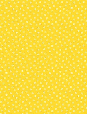 Amorette: Tiny Floral Yellow