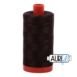 Aurifil 1422yds Dark Brown