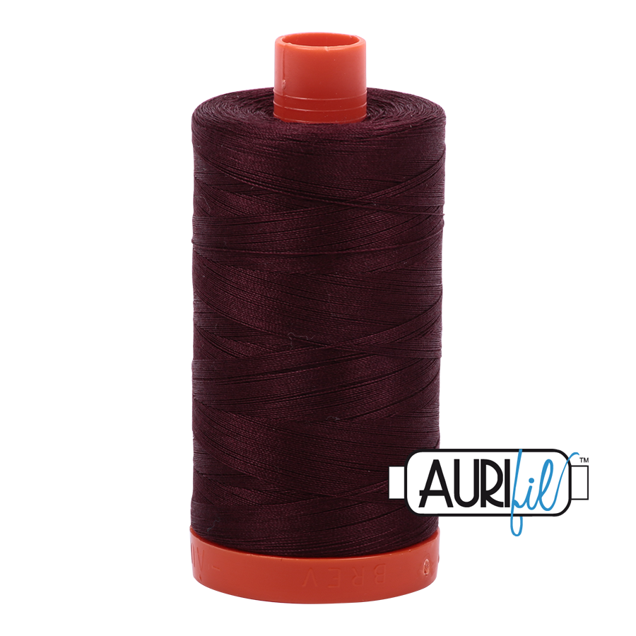 Aurifil 1422yds Dark Wine