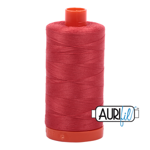 Aurifil 1422yds Dk Red Orange