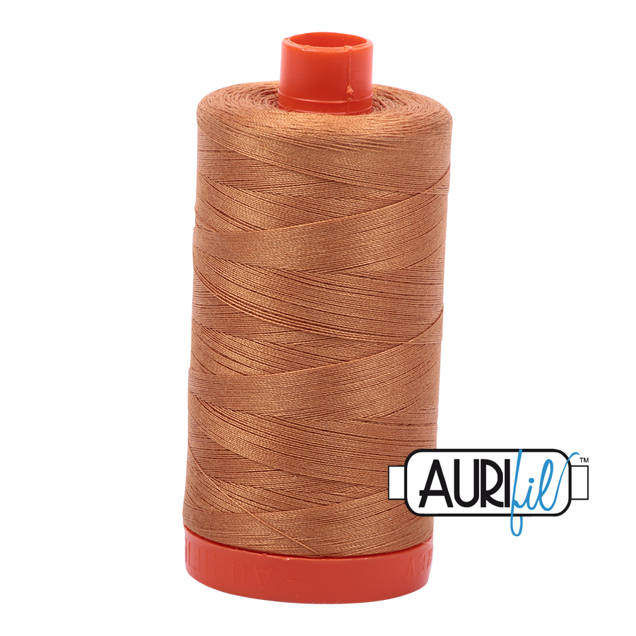 Aurifil 1422yds Golden Toast