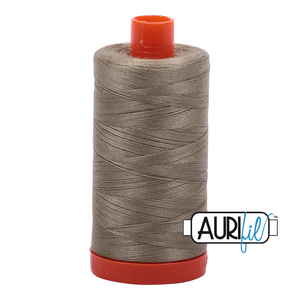 Aurifil 1422yds Light Khaki Gr
