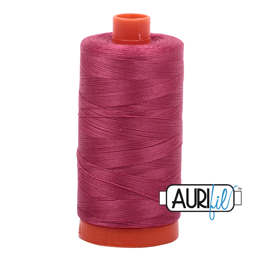 Aurifil 1422yds Med Carmine Re