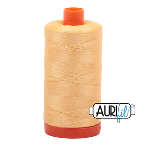 Aurifil 1422yds Medium Butter