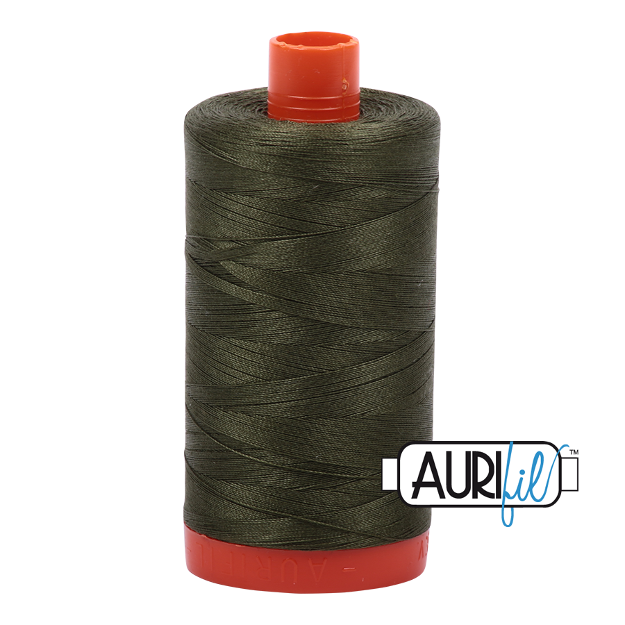 Aurifil 1422yds Medium Green