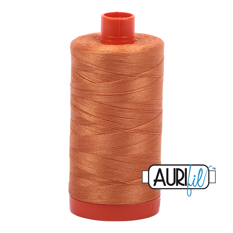 Aurifil 1422yds Medium Orange
