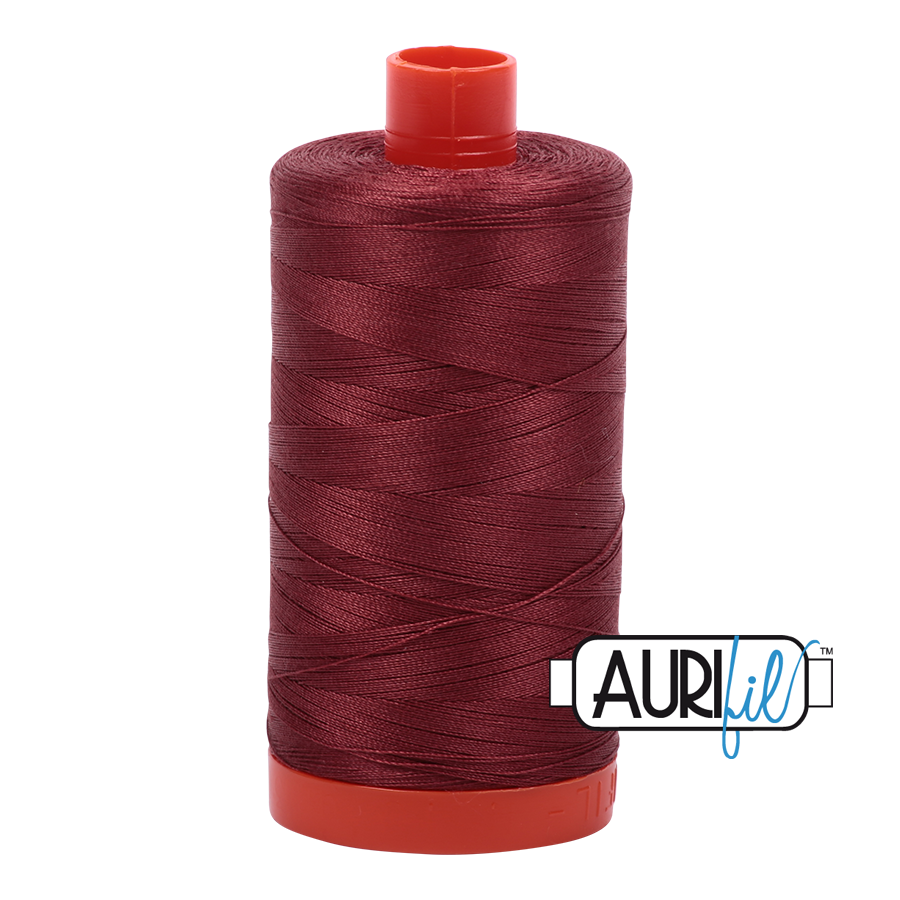 Aurifil 1422yds Raisin