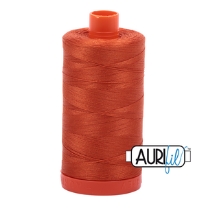 Aurifil 1422yds Rusty Orange