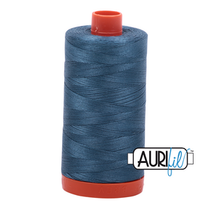 Aurifil 1422yds Smoke Blue