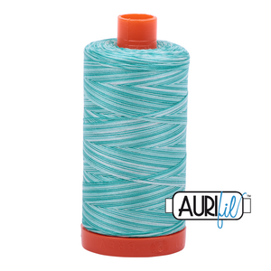 Aurifil 1422yds Variegated Sea