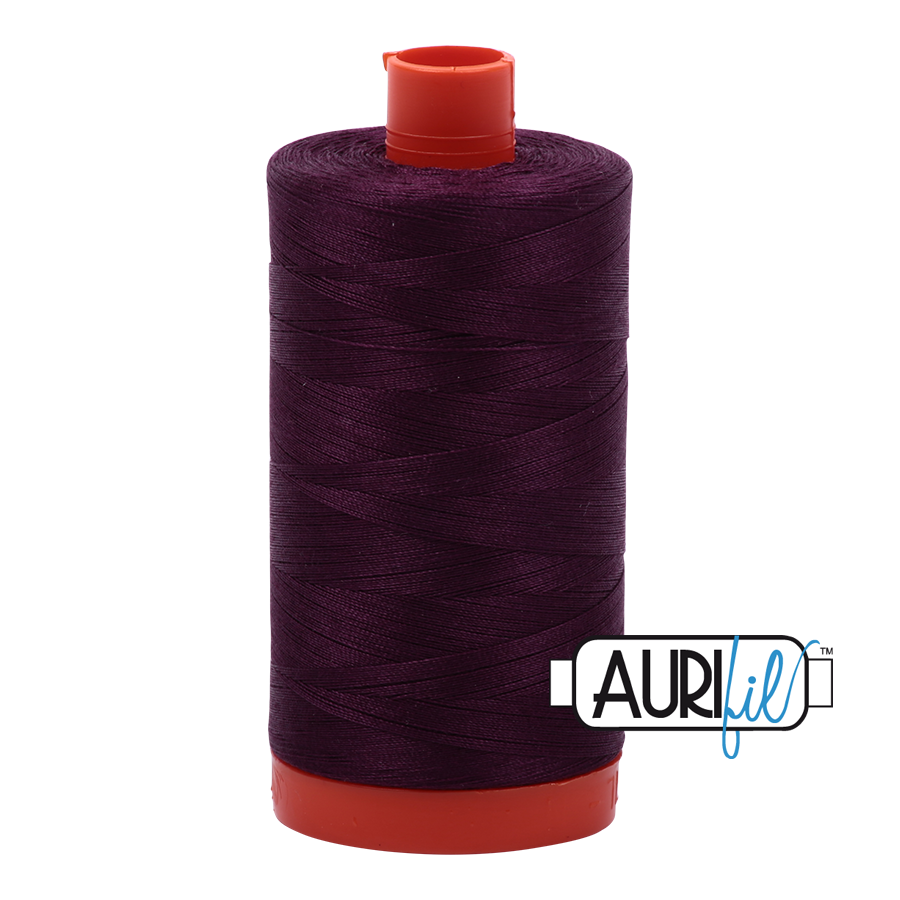 Aurifil 1422yds Very Dark Eggp