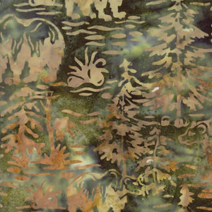Bear Creek Batiks Pine 4344-21