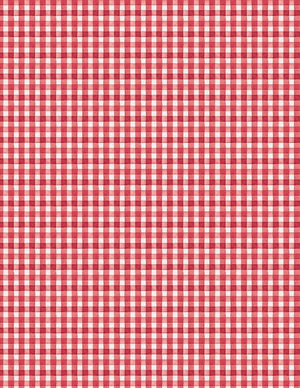Berry Sweet Gingham Red