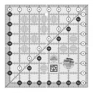 "CGR8  Creative Grids 8.5"" Square Ruler"