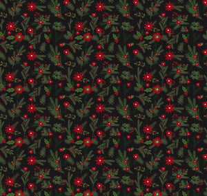 Christmas Delivery: Floral Black