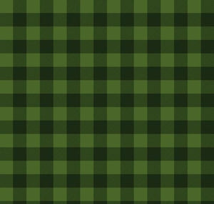 Christmas Delivery: Plaid Green