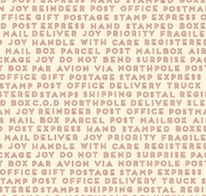 Christmas Delivery: Text Cream