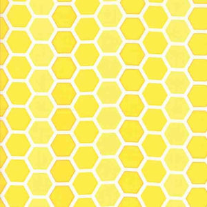 Confetti: Honeycomb Yellow