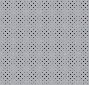 Delilah by Doodlebug Designs: Gray Delilah Swiss Dot