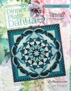 Dinner Plate Dahlia Wall/Full Pattern