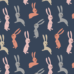 Dwelling: Navy Bunnies