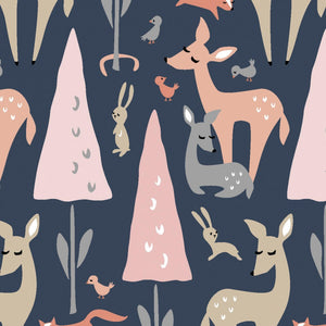 Dwelling: Navy Forest Animals