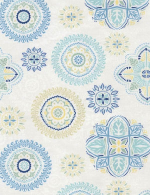 Fly Away: Floral Medallions Cream