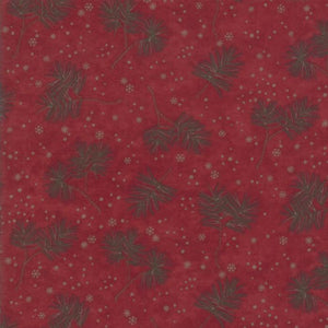 Frosted Flannels Winter Greens Cardinal Red