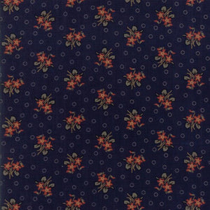 Hickory Road: Bouquet Dark Blue