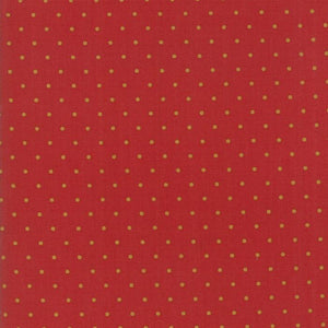 Hickory Road: Dots Brick Red