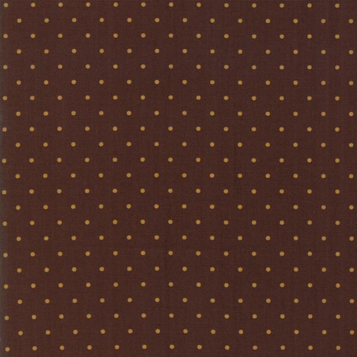 Hickory Road: Dots Dark Brown
