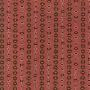 Hickory Road: Dotted Stripe Red Brick