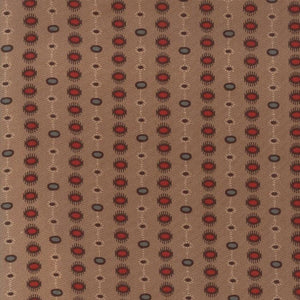 Hickory Road: Dotted Stripe Tan