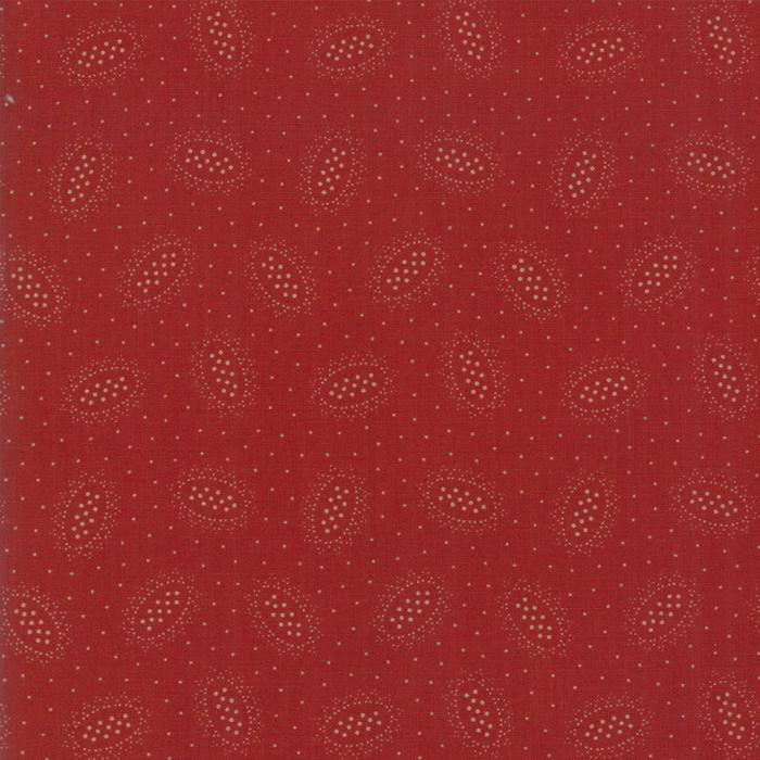 Hickory Road: Ovals Brick Red